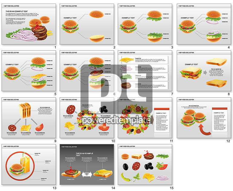 Fast Food Shapes and Charts