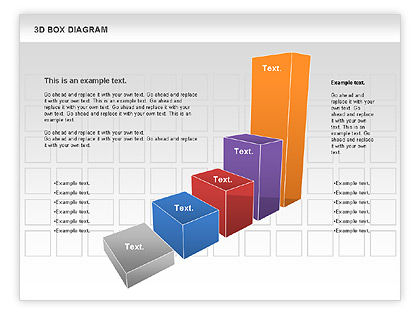 3d Box Diagram For Powerpoint Presentations Download Now