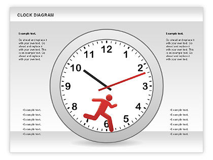 Clock Face Diagram #00873