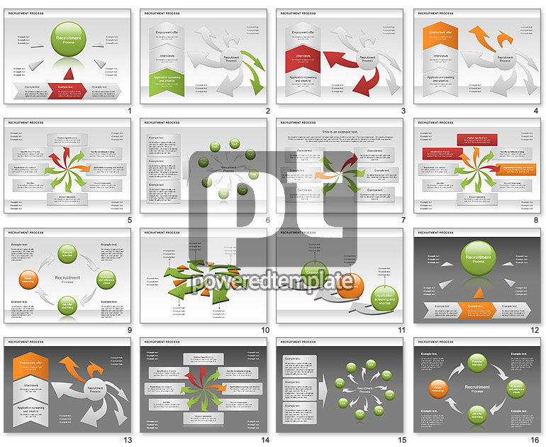 Recruitment Process for PowerPoint