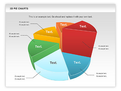 3d pie chart for powerpoint presentations download now Make your own 3d shapes online