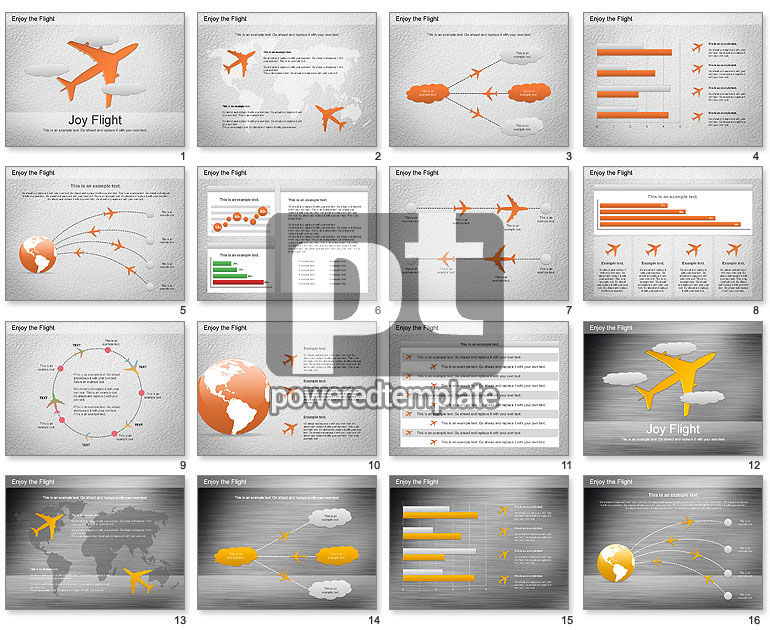 Flight Diagram for PowerPoint