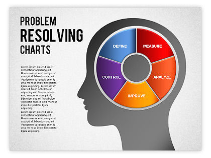 problem resolving chart for powerpoint presentations download now 01287. Black Bedroom Furniture Sets. Home Design Ideas