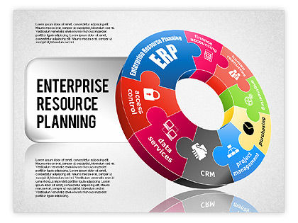 Enterprise Resource Planning Diagram for PowerPoint Presentations ...