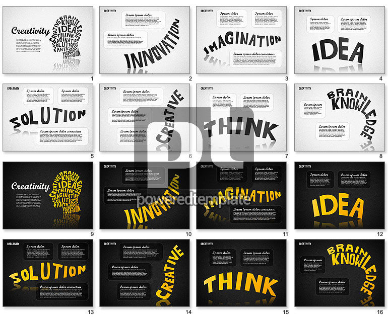Creativity For Powerpoint Presentations Download Now