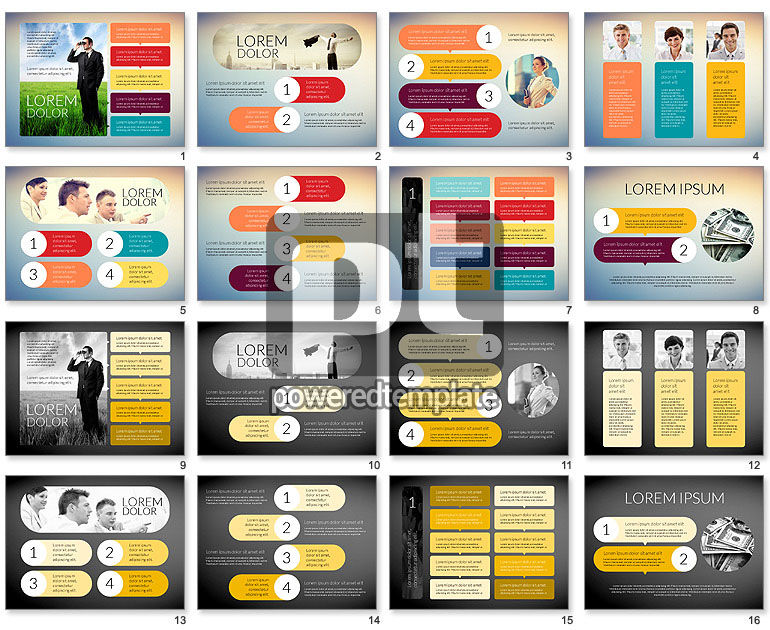 Creative Team Presentation Template For Powerpoint