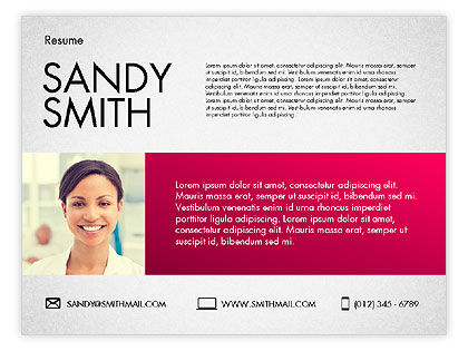 modern resume template for powerpoint presentations