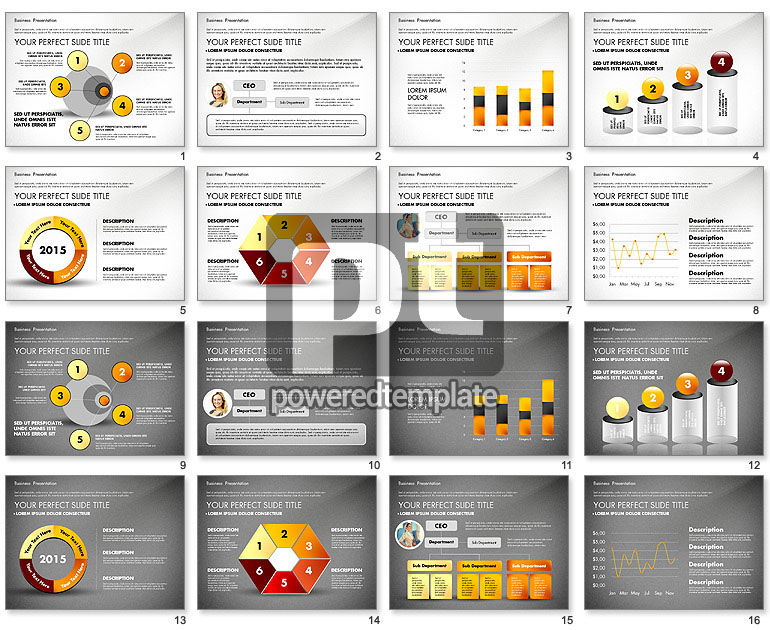 simple business presentation template for powerpoint presentations