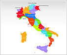 Italy PowerPoint Map