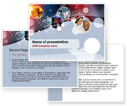 Science PowerPoint Template #00022
