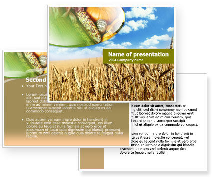 Free Agriculture PowerPoint Template #00072