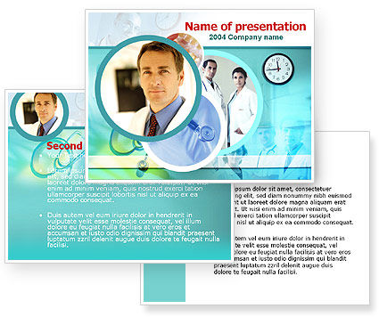 Medical Presentation PowerPoint Template #00084