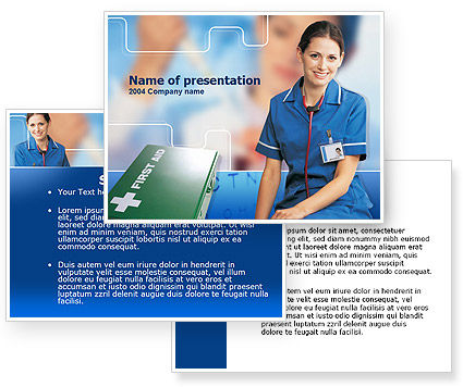 Free Download Powerpoint Templates Nursing  Ppt Background