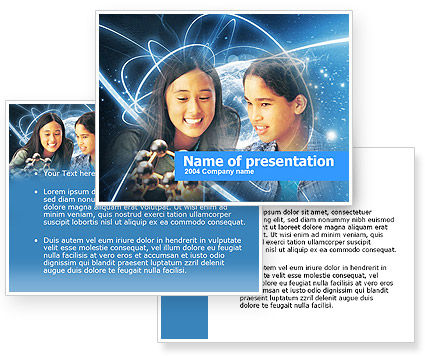 Free Natural Science Study PowerPoint Template #00368