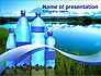 Bottled Mineral Water PowerPoint Template #00378 - small preview
