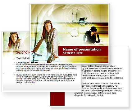 Collaboration PowerPoint Template #00553