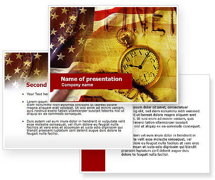 american history powerpoint template