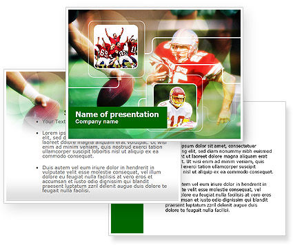 Super Bowl PowerPoint Template #00654