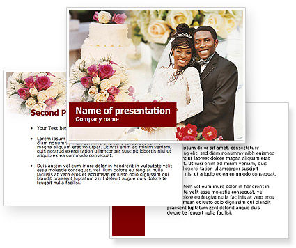 Wedding Theme PowerPoint Template Wedding Theme Background for PowerPoint