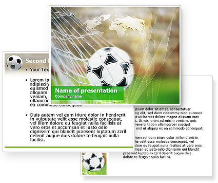 Soccer PowerPoint Template #01291