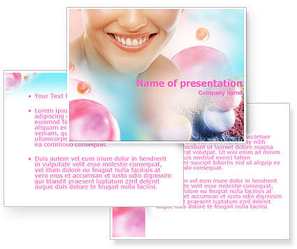 Smile PowerPoint Template #01303
