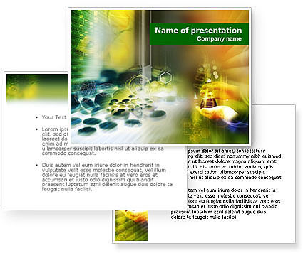 Pharmacology lab powerpoint template poweredtemplatecom for Pharmacology powerpoint templates free download