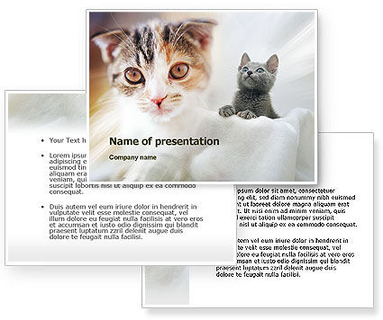 Powerpoint Background Cats Cats Powerpoint Template