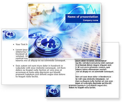 Financial Analysis PowerPoint Template #01382