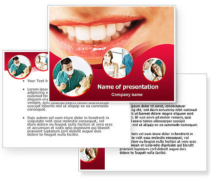 Dental PowerPoint Template #01441