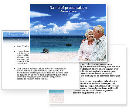Retirement PowerPoint Template #01446