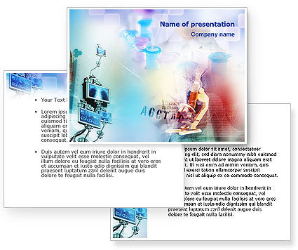 Research PowerPoint Template #01468