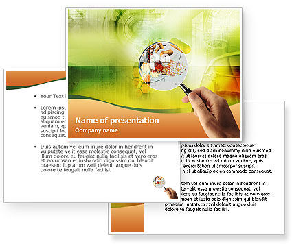 Scientific Research PowerPoint Template #01525