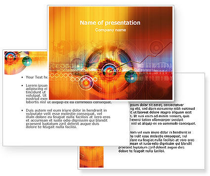 Explosion PowerPoint Template #01530