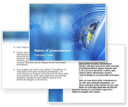 Engineering PowerPoint Template #01548