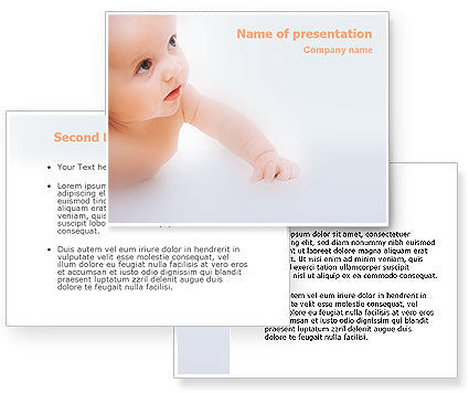Baby powerpoint templates free download powerpoint template poweredtemplatebaby toneelgroepblik Choice Image