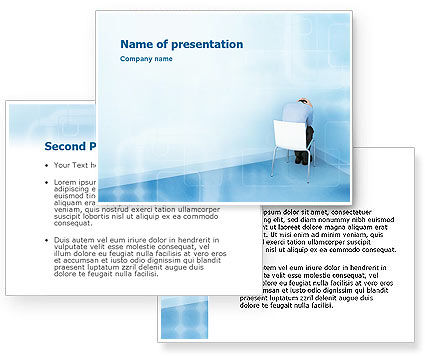 Psychology PowerPoint Template #01609