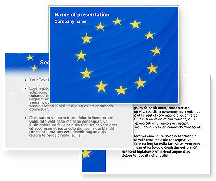 28 european union powerpoint template ssyiend european union flag powerpoint template poweredtemplate toneelgroepblik Gallery
