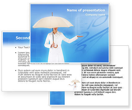 Weather Forecast PowerPoint Template #01663