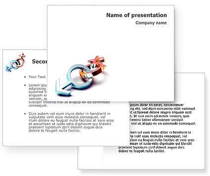 Gender PowerPoint Template #01685