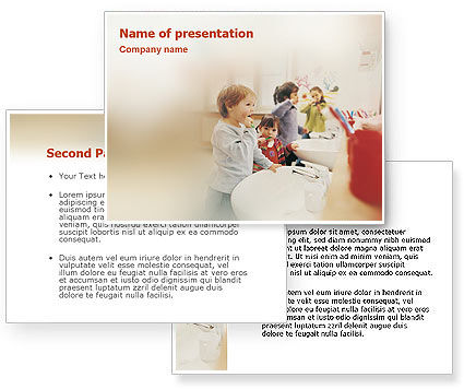 Powerpoint Background Hygiene Oral Hygiene Powerpoint