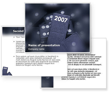 2007 PowerPoint Template #01712