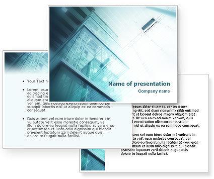 Elevator PowerPoint Template #01763