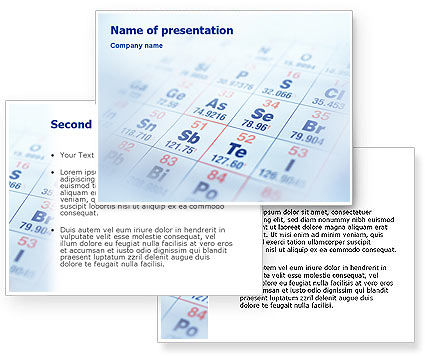 periodic table background powerpoint, Modern powerpoint