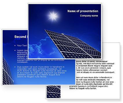 powerpoint templates free download solar energy image collections, Powerpoint templates