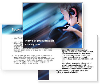 Free Driving Safety PowerPoint Template #01967