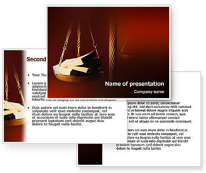 Corruption PowerPoint Template #02025