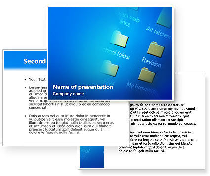 file folder powerpoint template 3 backgrounds