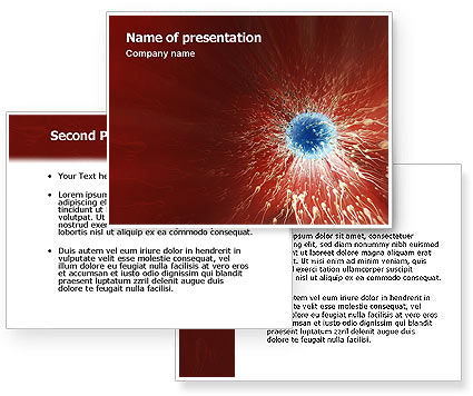 Conception PowerPoint Template #02116
