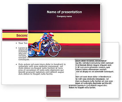 motorcycle sport powerpoint template 02150 3 backgrounds 3 masters. Black Bedroom Furniture Sets. Home Design Ideas