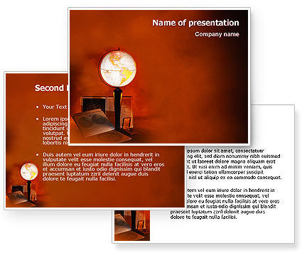 History PowerPoint Template #02171
